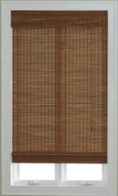 Online Designer Combined Living/Dining JCPenney Home™ Bamboo Woven Wood Roman Shade