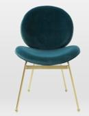 Online Designer Dining Room Jane Velvet Dining Chair