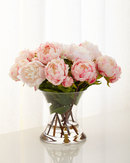 Online Designer Bedroom Peonies N Pink Faux-Floral Arrangement