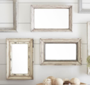 Online Designer Living Room Julia Blush Weathered Mirrors - Set of 3
