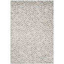 Online Designer Living Room Schacher Ivory/Charcoal Area Rug by Varick Gallery