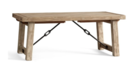 Online Designer Combined Living/Dining BENCHWRIGHT EXTENDING DINING TABLE, SEADRIFT