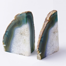 Online Designer Combined Living/Dining Agate Bookends