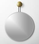 Online Designer Bathroom dot brass suspended mirror 36