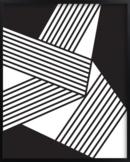 Online Designer Combined Living/Dining ARTWORK - untitled b+w #1