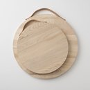 Online Designer Living Room Ash + Leather Serving Board