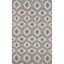 Online Designer Studio Bliss Gray Area Rug  by  Momeni