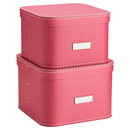 Online Designer Studio Pink Oskar Boxes - Set of 2