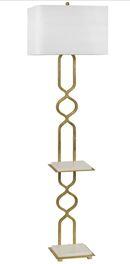 Online Designer Studio Regina Andrew Ace Gold Leaf Floor Lamp