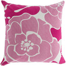 Online Designer Studio Flawless Floral Cotton Throw Pillow by Surya