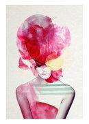 Online Designer Studio Bold Fuchsia Art Print