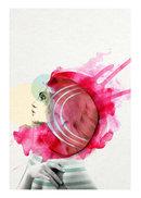 Online Designer Studio Pink of Health Print