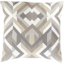 Online Designer Living Room Geometric Cotton Throw Pillow by Surya