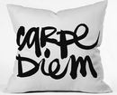 Online Designer Bedroom Carpe Diem Pillow