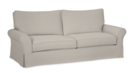 Online Designer Living Room PB COMFORT ROLL ARM SLIPCOVERED GRAND SOFA