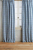 Online Designer Living Room Arima Geometric Curtain