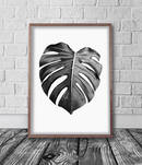 Online Designer Bedroom Monstera Leaf Digital Print