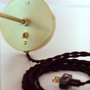 Online Designer Bedroom Black Twisted Cord w/ Plug