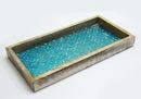 Online Designer Combined Living/Dining Bishopston Mosaic Wooden Accent Tray