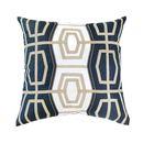 Online Designer Living Room Rantan Navy Medium Cushion