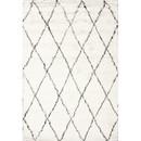 Online Designer Living Room Moderna Moroccan Ivory Shag Area Rug by nuLOOM