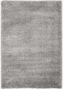 Online Designer Living Room California Silver Shag Area Rug