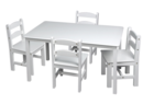 Online Designer Living Room Kids 5 Piece Table & Chair Set