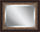 Online Designer Living Room Framed Beveled Plate Glass Mirror by Ashton Wall Décor LLC