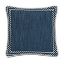 Online Designer Bedroom Indira Gilmer Indigo Throw Pillow