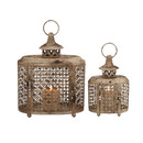 Online Designer Bedroom 2 Piece Metal Lantern Set