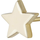Online Designer Kids Room White Twinkle Twinkle Wall Hook - white