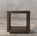 Online Designer Living Room LA SALLE METAL-WRAPPED SIDE TABLE