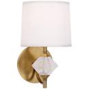 Online Designer Living Room Aged Brass Plug-In Wall Sconce