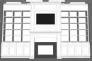 Online Designer Living Room Decorative Fireplace Cabinet