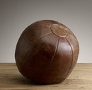 Online Designer Combined Living/Dining Vintage Leather Training Ball