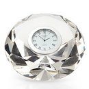 Online Designer Living Room Crystal Diamond Table Clock