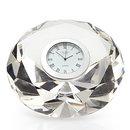 Online Designer Living Room Crystal Diamond Table Clock