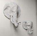 Online Designer Kids Room papier-mâché elephant head