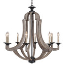 Online Designer Combined Living/Dining Winton 8 Light Candle Chandelier