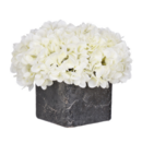 Online Designer Combined Living/Dining Artificial Fresh Hydrangea in Cube Pot