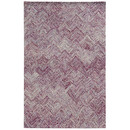 Online Designer Combined Living/Dining Colorscape Geometric Purple Area Rug by Pantone Universe