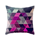 Online Designer Combined Living/Dining Hexagonal Pattern Pillow