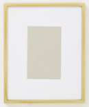 Online Designer Bathroom Gallery Frame, Polished Brass