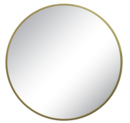 Online Designer Bathroom Round Decorative Wall Mirror Brass - Threshold™