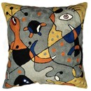 Online Designer Home/Small Office Miro Throw Pillows – Carnival Pillow Cover