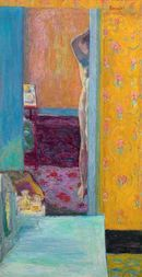 Online Designer Home/Small Office Nude In An Interior, Art Painting by Pierre Bonnard