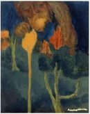 Online Designer Home/Small Office The Great Gardener, Art Painting by Emil Nolde