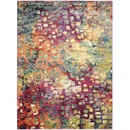 Online Designer Home/Small Office Safavieh Monaco Pink/ Multi Rug
