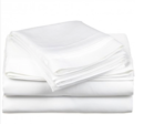 Online Designer Bedroom Impressions 650 Thread Count Egyptian Cotton Solid Sheet Set - King - White