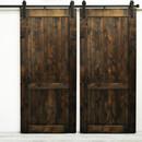 Online Designer Bedroom Country Vintage Double Barn Door without Hardware